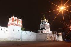 Novodevichy女修道院修道院,莫斯科,俄罗斯 免版税图库摄影