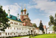 Novodevichy女修道院 免版税库存图片