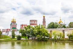 Novodevichy女修道院 免版税图库摄影