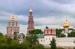 Novodevichy女修道院 库存照片