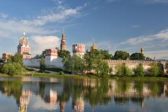 novodevichy的修道院 库存照片
