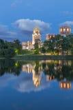 novodevichy的女修道院 免版税库存图片