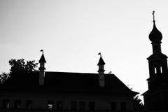 novodevichy的女修道院 图库摄影