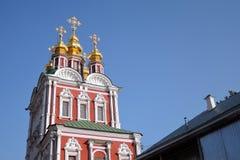 novodevichy的女修道院 库存照片