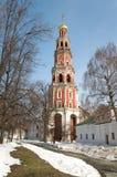 novodevichy钟楼的女修道院 图库摄影