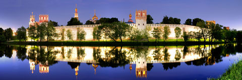 Novodevichy convent. Moscow religion historical Novodevichy convent Royalty Free Stock Photography