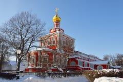 Novodevichy Convent also known as Bogoroditse Smolensky Monastery Stock Photography