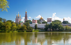Novodevichy Convent In Moscow Royalty Free Stock Photos