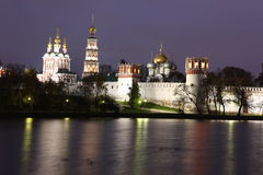 Novodevichy Convent monastery, Moscow, Russia Stock Images