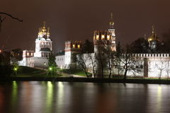 Novodevichy Convent monastery, Moscow, Russia Royalty Free Stock Image