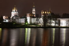 Novodevichy Convent monastery, Moscow, Russia Royalty Free Stock Photo
