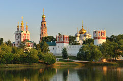 Novodevichy convent in Moscow. At summer Stock Photo