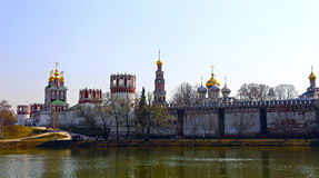 Novodevichy Convent in Moscow Royalty Free Stock Images