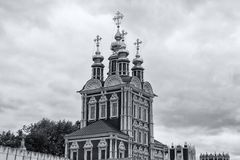 Novodevichy Convent in Moscow. Royalty Free Stock Images