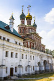 Novodevichy convent in Moscow. Popular touristic landmark. UNESCO World Heritage Site. Russia royalty free stock photography