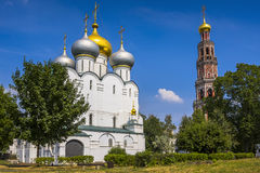 Novodevichy convent in Moscow. Popular touristic landmark. Royalty Free Stock Photography