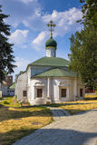 Novodevichy convent in Moscow. Popular touristic landmark. Stock Photo