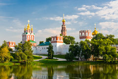 Novodevichy convent in Moscow Stock Photo