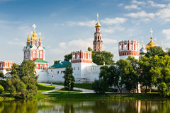Novodevichy convent in Moscow Stock Photography