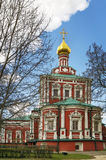 Novodevichy Convent, Moscow, Russia Royalty Free Stock Photos