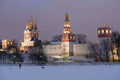 Novodevichy Convent in Moscow, Russia royalty free stock photography