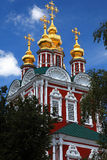 Novodevichy Convent, Moscow, Russia. Stock Images