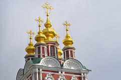Novodevichy Convent in Moscow. Royalty Free Stock Photography