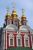 Novodevichy convent in Moscow. Royalty Free Stock Photo