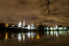 The Novodevichy convent in Moscow Royalty Free Stock Images