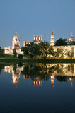 Novodevichy Convent (at night), Moscow, Russia Stock Photos
