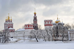 Novodevichy-Kathedrale Stockfotos
