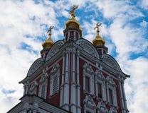 Novodevichy klasztoru wierza Obrazy Stock