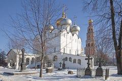 novodevichy kloster Arkivbild