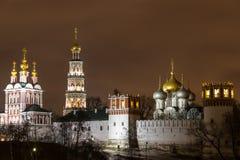 Novodevichy kloster Royaltyfri Fotografi