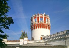 novodevichy kloster Arkivbilder