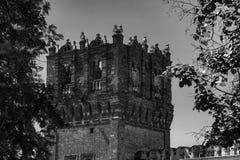 Novodevichy kloster, Bogoroditse-Smolensky klosterMoskva Arkivbild