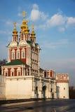 Novodevichy kloster i ottan Royaltyfria Bilder