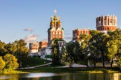 Novodevichy Kloster, Moskau Lizenzfreie Stockfotos