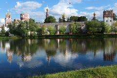 Novodevichy Kloster in Moskau, Russland Stockfotos