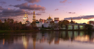 Novodevichy Kloster P2 lizenzfreies stockbild