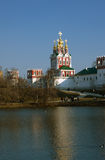 Novodevichy Monastery Stock Photo