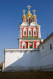 Novodevichy Monastery Church Royalty Free Stock Image