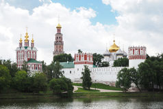 Novodevichy Monastery. Moscow, Russia Stock Images