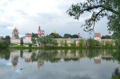 Novodevichy monastery. Moscow Royalty Free Stock Photo