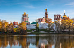 Novodevichy Monastery, Moscow, Russia Royalty Free Stock Photography