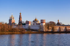 Novodevichy monastery Stock Photos