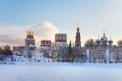 Novodevichy nunnery . Moscow Royalty Free Stock Photo