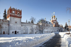 Novodevichy nunnery . Moscow Stock Photos