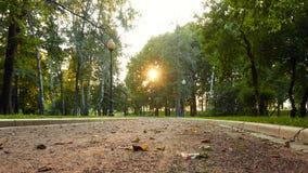 Novodevichy Park, Moscow stock photo