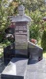 Novodevichye公墓 坟茔宇航员德语蒂托夫 免版税库存图片